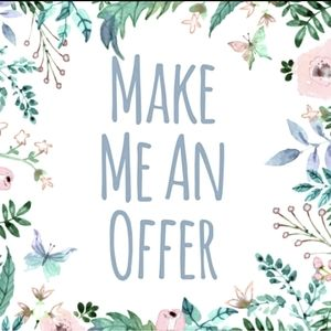 Offers Are Welcome! Bundle and save!
